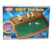 Shut the Box Dice Game - T124448
