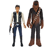 As Is Set of Two 18 Star Wars Classic Action Figures - T137148