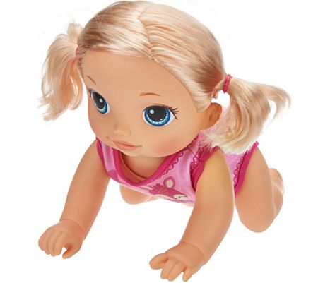 Baby Alive Baby Go Bye Bye Doll with Carrier By: Hasbro