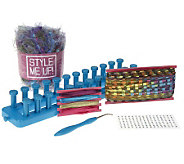 Style Me Up Scarf Making Kit w/Trendy Loom & Accessories - T31251