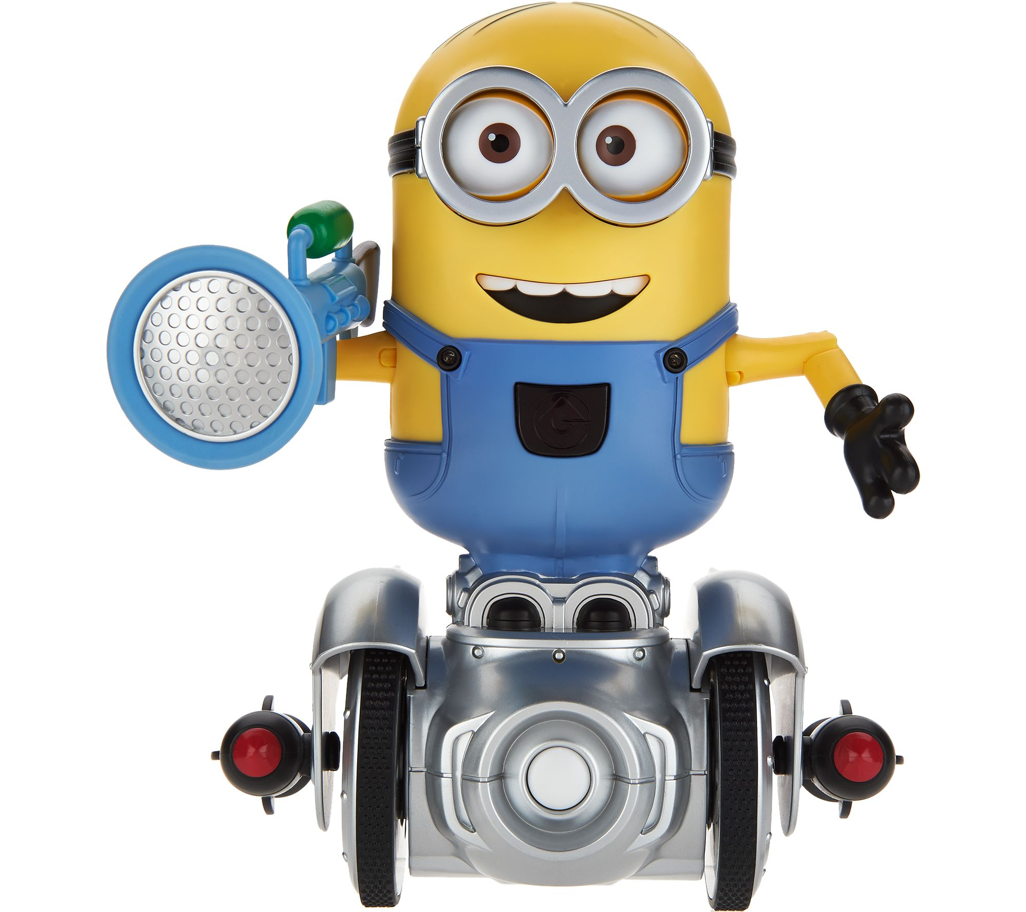 Turbo Dave Minion Mip Robot with Auto and App Modes — QVC