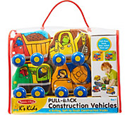 Melissa & Doug Pull Back Construction Vehicles - T128053