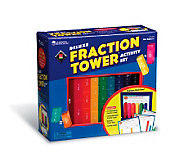 Deluxe Fraction Tower Activity Set by LearningResources - T113955