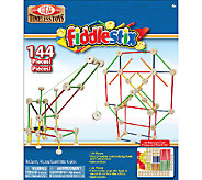 Ideal Classic Fiddlestix 144-Piece Wood Connector Set - T124456