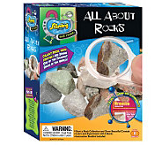Scientific Explorer All About Rocks Kit - T124956