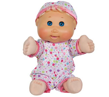 "Cabbage Patch Kids 14"" Animated Baby So Real Doll"