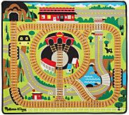 Melissa & Doug Round the Rails Train Rug - T127657