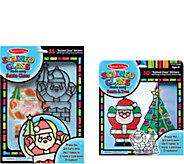 Melissa & Doug Lets Play Holiday Stained GlassBundle - T128057