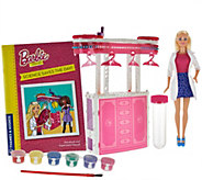 Ship 8/1 Barbie Dream House Science Kit w/ 10 Experiments & Doll - T34557