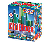 CitiBlocs 100-Piece Cool-Colored Building Block - T127259