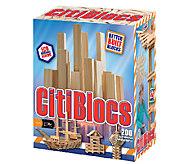 Alex Brands CitiBlocs 200-Piece Natural Wood Set - T127261