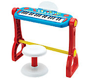 Fisher-Price Play-Along Keyboard with Stool - T127463