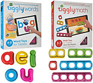 Tiggly Math & Words Interactive Learning Game for Tablets - T34063