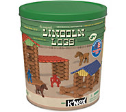 Lincoln Logs 153 piece Retro Edition Tin & Figures - T34065