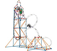KNex Glow in the Dark Roller Coaster Building Set - T34066