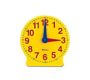 Big Time 12-Hour Demonstration Clock by Learning Resources - T113967