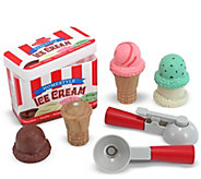 Melissa & Doug Scoop & Stack Ice Cream Cone Playset - T127767