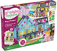 KNex Mighty Makers Home Designer Building Set w/ Four Figures - T34067