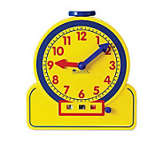 Primary Time Teacher 12HR Learning Clock by Learning Resource - T113969