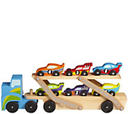 Melissa & Doug Mega Race Car Carrier - T127569