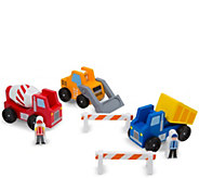 Melissa & Doug Construction Vehicle Set - T127769