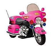 Patrol H. Police Motorcycle - Pink - T125473