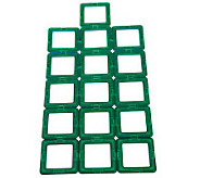 Magformers 16-piece Magnetic Square Accessory Pack - T31776
