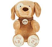 Gund Spunky Dog ABC/123 Animated Plush - T34777