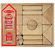 Melissa & Doug Standard Unit Blocks - T127179