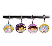 Paisley Girl Shower Curtain Hooks - T122980