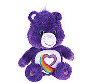 Care Bears 35th Anniversary Rainbow Heart Plush Bear - T34980