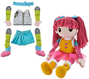 Mixxie Mopsie Oversized 20 Doll w/ 17 Pieces By: Adora - T34286