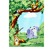 AniMates Augmented Reality Jungle Blanket by MiniMates - T34886