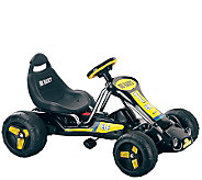 Lil Rider Black Stealth Pedal Powered Go-Kart - T127387
