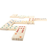 Hey! Play! Giant Wooden Dominoes Set - T127887