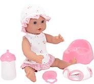 Melissa & Doug Annie 12 Drink & Wet Doll - T127987