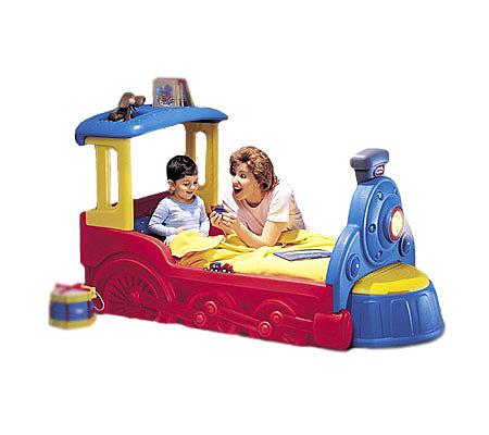 Little Tikes Sleepytime Express Train Toddler Bed