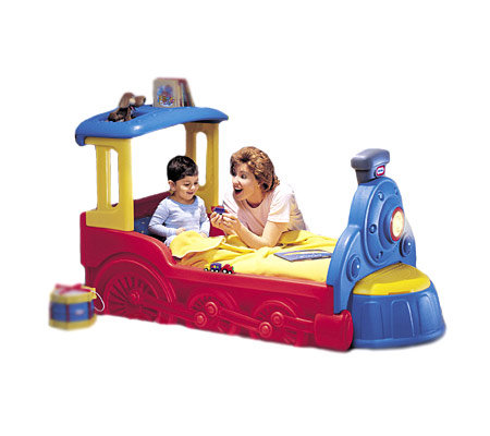 Little Tikes Sleepytime Express Toddler Bed QVC