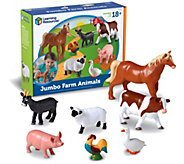 Jumbo Farm Animals By Learning Resources - T113989