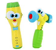 Kidz Delight Silly Sam Flashlight and Hammer Toy Combo - T127289