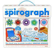 The Original Spirograph Deluxe Set with Bonus Coloring Book