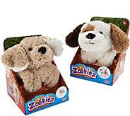 Zookiez Set of Two Wrap Around Plush Animal Friends - T34991