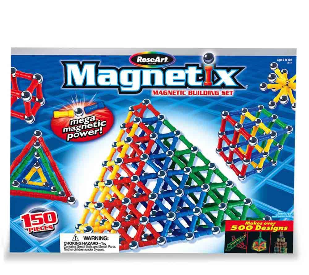 Magnetix 150 Pc Primary Magnetic Building Set Qvc Com