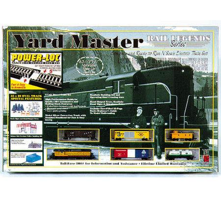 Life Like Yard Master Great Northern N Scale Train Set