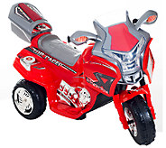 Lil Rider Top Racer Sport Bike 6V Ride-On - T127193
