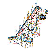 KNex Sorcerers Eclipse Rollercoaster BuildingSet - T127393