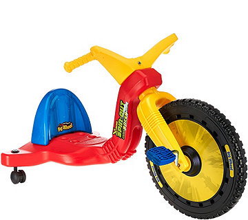 "Big Wheels 16"" Spin Out Racer w/ Caster Wheels - T33493"