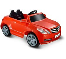 Mercedes Benz E550 1 Seater - Red 6V Ride-On Vehicle