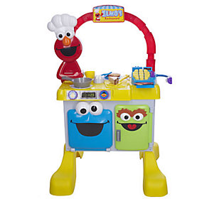Fisher Price Sesame Street Elmos Talking Restaurant Qvc Com