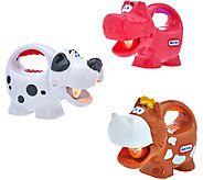 Little Tikes Set of 3 Glow n Speak Animal Flashlights - T33595